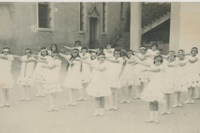 Armenian girls' orphanage – Adana circa 1909-1910