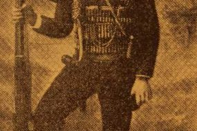 Fedayee Aram Hagopian, one of the three Gorun