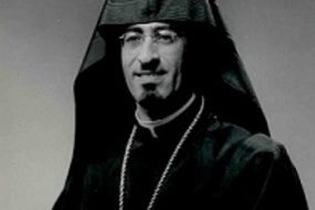 Bishop Guregh Kapikian from Jerusalem