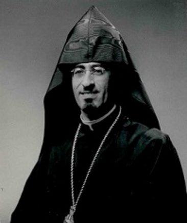 Bishop Guregh Kapikian from Jerusalem