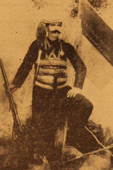 Young Antranig Ozanian, hero of Daron