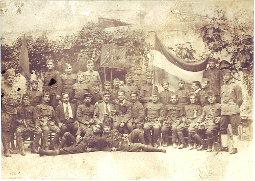 Group of gamavor (volunteers) – Sis between 1919-1921