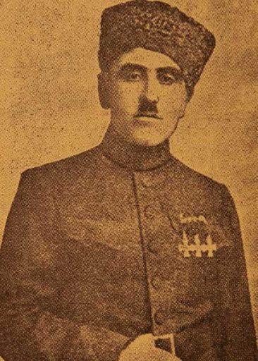 Murad Bedrossian from Tseronque village
