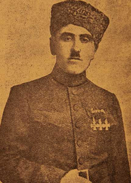 Murad Bedrossian from Tseronque village