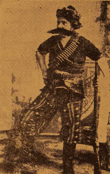 Fedayee Palabekh Garabed, hero of Daron