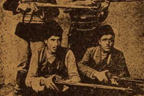 Fedayeen Hasrat, Aslan and Aram, heroes of Vartenis