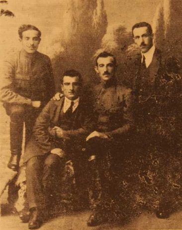 Armen Sasuni, Onnig Mekhitarian, G. Sasuni and Hemayag Manoogian