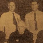 Doctor Khachig Giragosian, Dr Khoren Mamigonian, Yeghishe Melikian, Dr A. Alikhanian - USA 1955