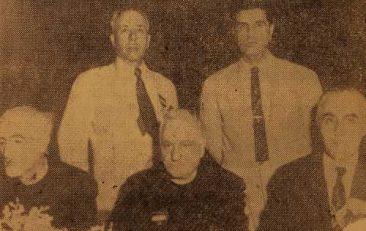 Doctor Khachig Giragosian, Dr Khoren Mamigonian, Yeghishe Melikian, Dr A. Alikhanian – USA 1955