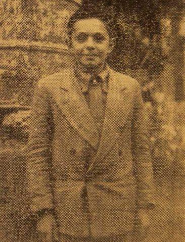 Misak Mgerdichian, pupil from Hamazkayin Nshan Palandjian Djemaran – Beirut