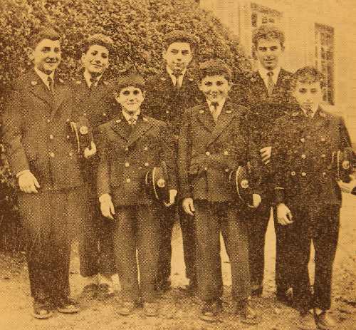Pupils of the Samuel Moorat College – France