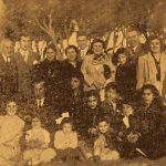 Sister Lusia Mayrig Sarhadian with descendants of saved Armenians