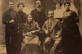 Armen Garo (Karekin Pasdermadjian) and his family