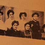 Armenian teachers of the American Missionary School for Girls in Garin - 1909
