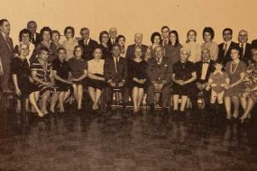 Committee members of the New York Garin Compatriotic Union – 1972