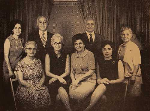 Executive Committee Members of the Boston Garin Compatriotic Union – 1972