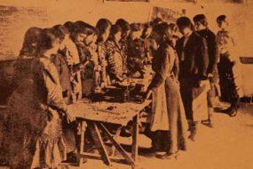 Hripsimian School science class – Garin