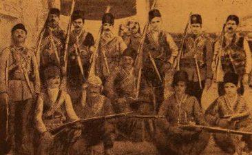Group of Armenian volunteers in Akdagh