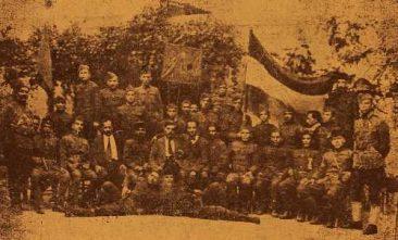 Hnchakian group of Armenian-American volunteers