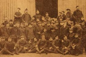 Young Armenian volunteers in the French army – 1914