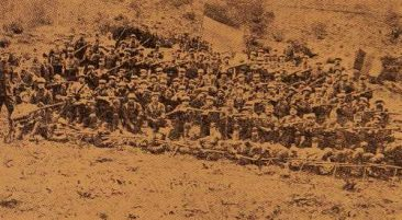 Armenian Legion, soldiers from Sevaz (Sebastia) – December 31, 1918