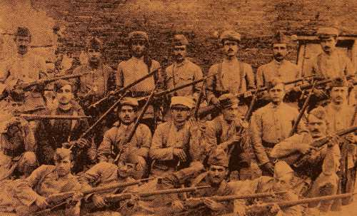 Armenian legion, soldiers from Suwediye (Syria)
