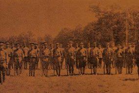Armenian Legion, volunteers in America before their departure for Cyprus – January 3, 1919