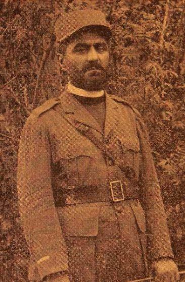 Armenian Legionnaire Vagharshag Vartabed Arshagouni