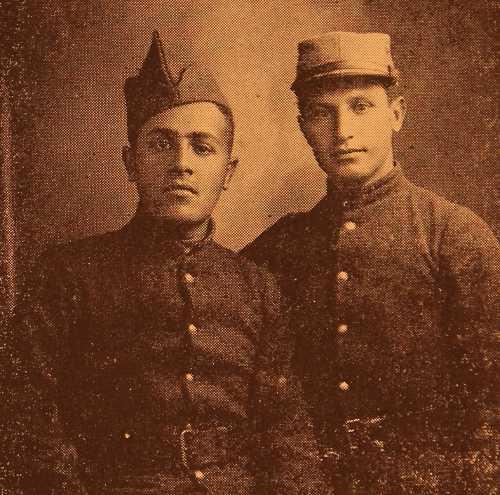 Armenian Legionnaires Vahan Tchourgents and Dikran Boyadjian