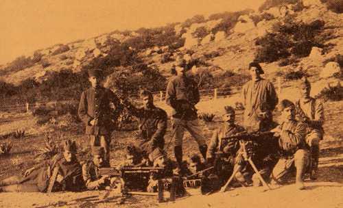 Armenian Legionnaires, machine gun group