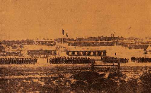Military parade of the Armenian Legion – Monarga Cyprus