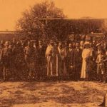 Vartanantz Celebration by the Armenian Legion in Monarga Cyprus - April 18, 1918