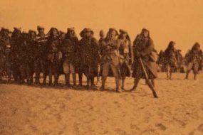 Armenian Legionnaires leaving Hayfa for Beirut