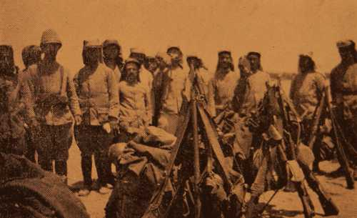 Armenian Legionnaires returning from the Battle of Arara