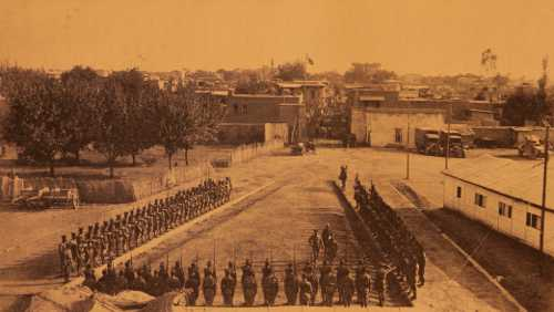 Dismantling of the Armenian Legion in Adana