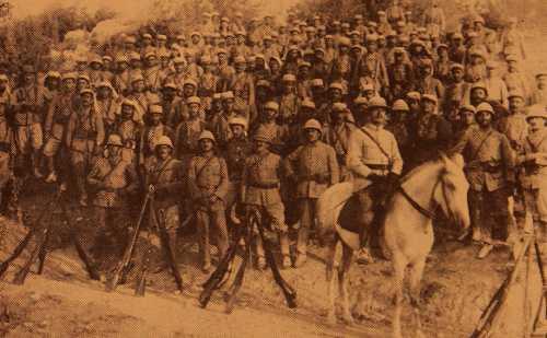 Group of Armenian Legionnaires