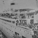 Transfer of France Armenians to Soviet Armenia on the Rossia ship