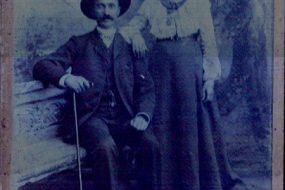 Armenian couple from Artvin
