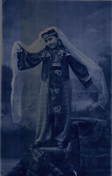 Armenian girl from Artvin