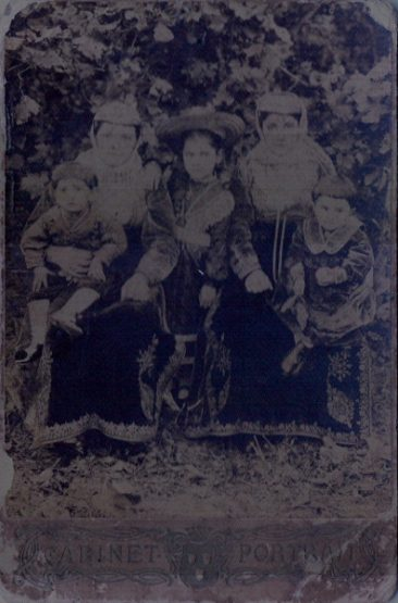 Armenian family from Artvin