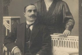Hovanes Chavooshian and Tamara Tamoyan from Artvin