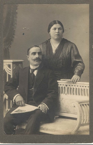 Hovanes Chavooshian and Tamara Tamoyan from Artvin