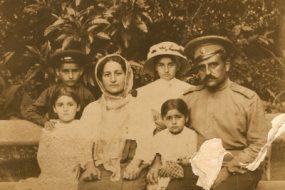 Armenian family from Artvin