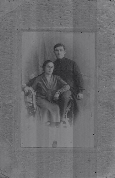 Margarita Verapatvelian and Melkon Yanogian from Artvin