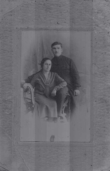 Margarita Verapatvelian and Melkon Yanogian from Artvin