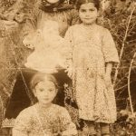 Mother and her children in Artvin