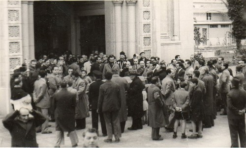 Sose Mayrig Funeral in 1952 in Alexandria, Egypt