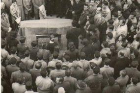 Sose Mayrig Funeral Sourp Boghos Bedros Church, Alexandria 1952