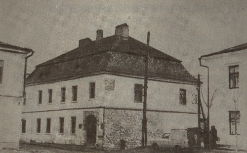 Armenian trading house of Kamianets-Podilskyi, Ukraine