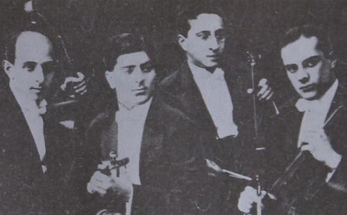 Komitas Quartet in 1932
